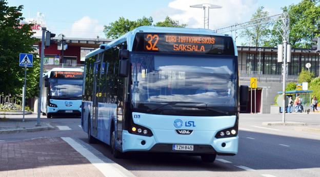 Finska Koiviston Auto fortsätter att köpa VDL Citea. Här är några av företagets bussar i trafik i Lahti. Foto: VDL Bus & Coach.