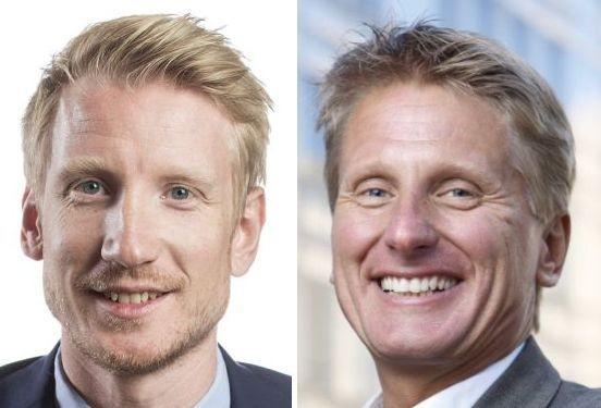 David Erixon, till vänster, och Göran Grell föreslås till Sveriges Bussresearrangörers styrelse.