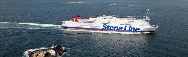 Stena Germanica, först i världen med metanol. Foto: Stena Line.