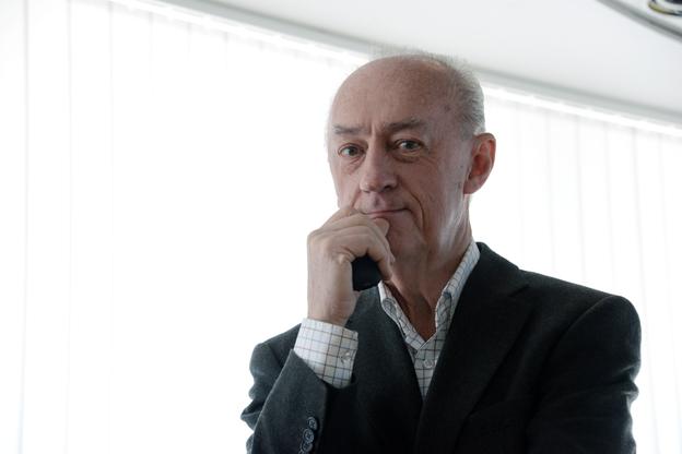 Allan Larsson, tidigare finansmninister, idag engagerad i Sjöstadsföreningen och Bussplan Stockholm. Foto: Ulo Maasing.