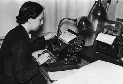 Den 5 maj är det jobba-hemma-dagen. Bild: Bundesarchiv/Wikimedia Commons.