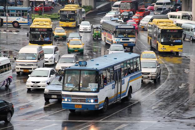Snart ska 500 elbussar rulla på Bangkoks gator. Foto: Ilya Plekhanov/Wikimedia Commons.
