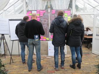 461 synpunkter och förslag kom in när Helsingborgs stad, Skånetrafiken och Nobina genomförde en trafikdialog i stadsdelen Mariastaden. Foto: Helsingborgs stad.