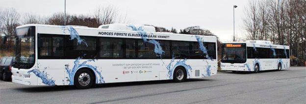 Holländska Ebusco har sålt två elbussar för stadstrafik till Boreal i Stavanger. Bild: Ebusco.