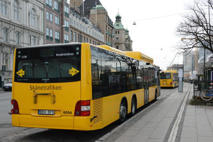 Färdtjänstberättigade Malmöbor får snart resa fritt med den allmänna kollektivtrafiken i hela Skåne. Foto: Ulo Maasing.