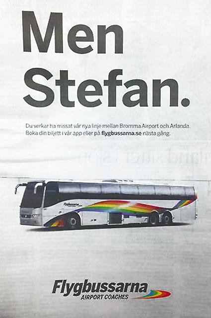 Flygbussannons
