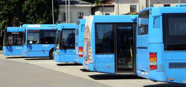 Bristerna på kontrollerade bussar i Göteborg har varit så många att polisen fortsätter med sina skärpta kontroller. Arkivbild: Ulo Maasing.