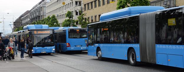 Västtrafiks resenärer blir allt nöjdare. Foto: Ulo Maasing.