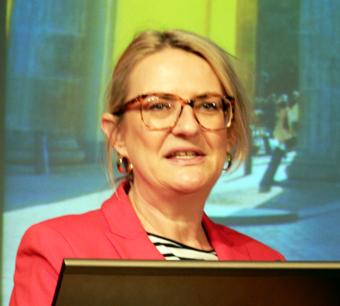 DZT:s chef Petra Hedorfer kunde blicka tillbaka på en stark ökning av turismen till Tyskland.
