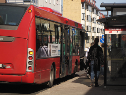 Gasfria bussar i Luleå. Foto: Ulo Maasing.