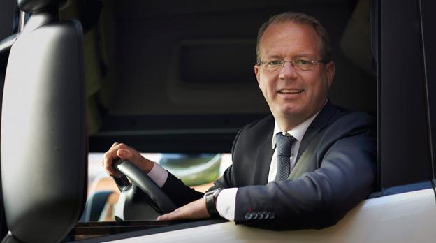 Martin Lundstedt, idag vd och koncernchef för Scania tar sensationellt över som vd och koncernchef på AB Volvo. Foto: Göran Wik.