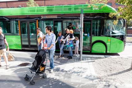 Sedan Malmlexpressen började köra har bussresandet gått upp radikalt. Foto: Malmö Stad.
