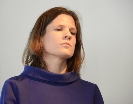 """Nanna Wikholm(S), oppositionslandstingsråd i Stockholm: """"Vi har goda förutsättningar"""". Foto: Ulo Maasing."""