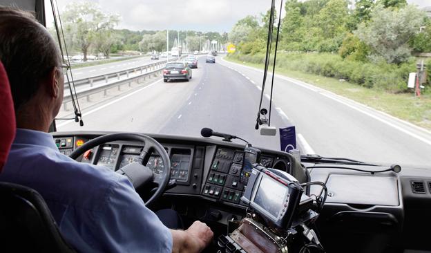 Två svenska och åtta norska Nettbussförare gör upp i finalen om vem som är bäst i Norden på att köra kund- och miljövänligt. Arkivbild: Nettbuss.
