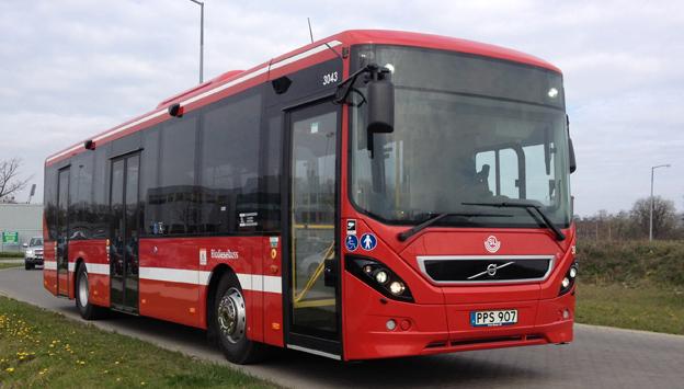 Nobina har köpt 276 Volvo 8900. Foto: Volvo.