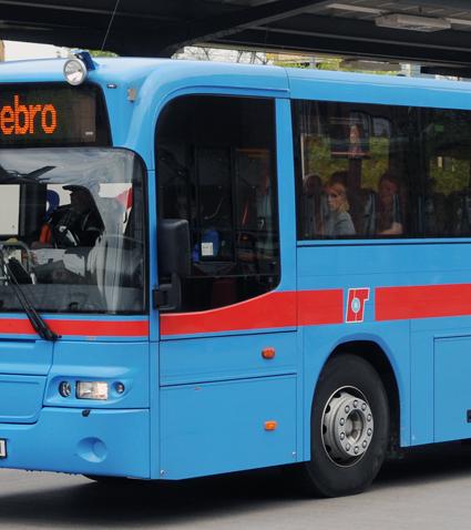 De södra delarna av Örebro län får rejält mycket mer kollektivtrafik för pengarna i höst. Foto: Ulo Maasing.
