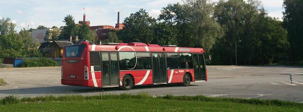 Idag används Jiffis unika betallösning i ett pilotprojekt på stadsbussarna i staden Tartu, Estland. Foto: Ehitaja/Wikimedia Commons.