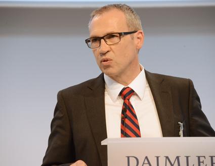 Gustan Tuschen, utvecklingschef, Daimler Buses. Foto: Ulo Maasing.