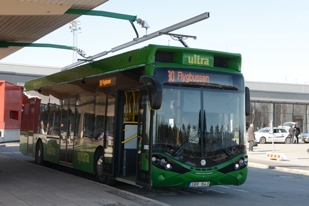 Transdev tar över från Nobina i Umeå och deltar i Umeås storsatsning på elbussar. Foto: Ulo Maasing.