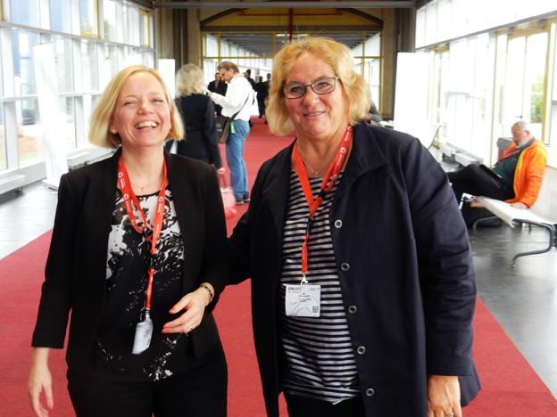 Gerlinde Anderberg och Ulla Lundwall var på plats för Cities+Tours, Hamans nya grossistföretag.