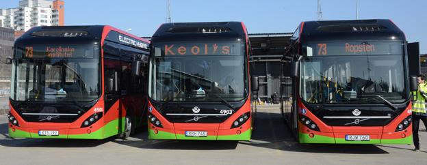 Volvo toppade registreringsstatistiken under mars. Foto: Ulo Maasing.