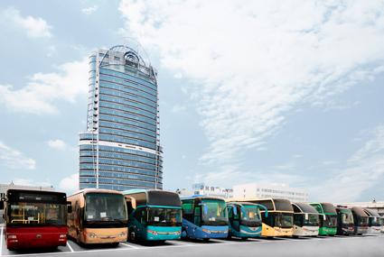 Kinesiska Yutong är världens största busstillverkare. Foto: Yutong.