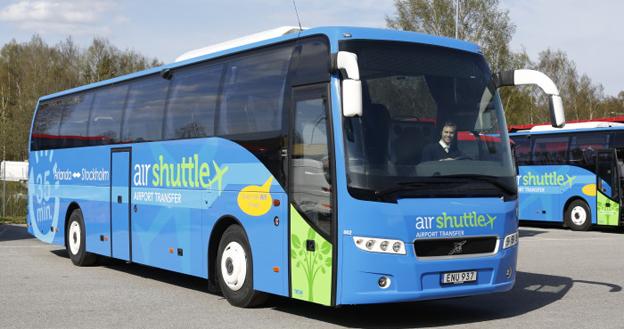 Air Shuttle börjar den 11 maj köra flygbusstrafik mellan Cityterminalen i Stockholm och Arlanda flygplats. Foto: Air Shuttle.