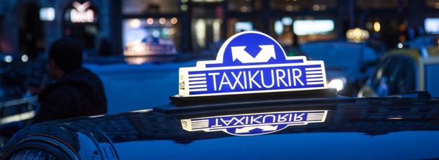 Taxi Kurir och Region Örebro län går skilda vägar. Foto: Sven Ängermark.