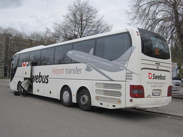 Swebus utökar mellan Arlanda och Västerås när Bus4You går in på linjen. Foto: Swebus.