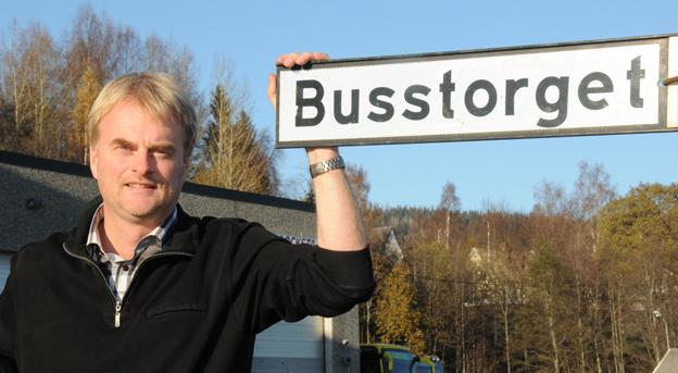 Tomas Byberg, vd för Byberg & Nordin Busstrafik som nu enbart kör fossilfritt i Härnösand. Foto: Ulo Maasing.