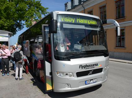 Flygbussarna gör comeback på Gotland. Foto: Ulo Maasing.