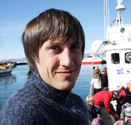 Jonathan Westerlund, forskare vid Göteborgs universitet. Foto: Dan Gall.