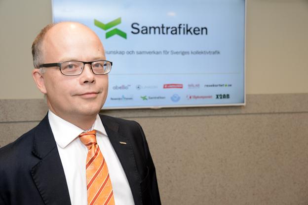 Gerhard Wennerström fortsätter som vd för Samtrafiken när X2AB:s verksamhet nu förs in i företaget. Foto: Ulo Maasing.