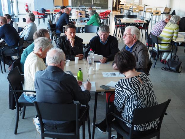 För att åstadkomma bästa möjliga lösningar för hussföretagen att ta hand om resenärerna när Visby får en ny kryssningskaj arrangerade Gotlands Bussbranschförening på torsdagen en unik workshop. Foto: Yvonne Blombäck.