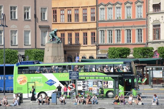 Turismen till Sverige ökade med sex procent i fjol – och de turister som kom spenderade mer pengar. Foto: Ulo Maasing.