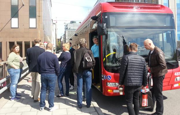 Estniska Jiffis unika betallösning med smarta mobiler och klockor visades nyligen i Stockholm.