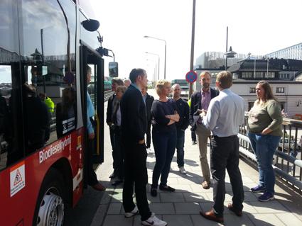 När Jiffi nyligen visades i Stockholm var intresset stort. På UITP-mässan i Milano 8 – 10 juni kommer Jiffi att visas i samarbete med busstillverkaren Irizar.