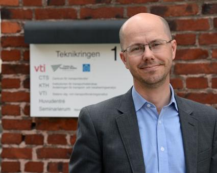 Jonas Eliasson, professor, KTH: Nolltaxa är en ineffektiv lösning. Foto: Ulo Maasing.