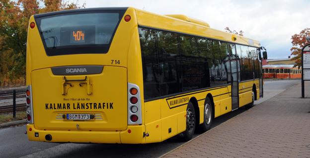 """""""Det går utmärkt att få fossilfri busstrafik utan ensidigt krav på biogas"""", hävdar bussföretagaren Urban Johansson, Gamleby Buss & Taxi. Foto: Ulo Maasing."""