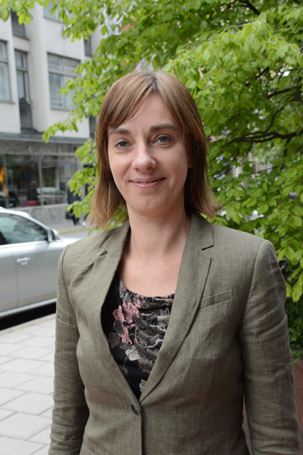 """""""Jag är bekymrad över utvecklingen"""", säger Christine Leonard, chef för det tyska bussbranschförbundet BDO. Foto: Ulo Maasing."""