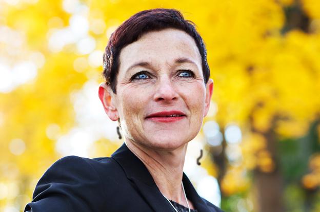 Transportstyrelsens generaldirektör Maria Ågren. Foto: Naturvårdsverket.