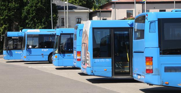 Ett fåtal bussar står för de stora utsläppen av nanopartiklar från busstrafiken, visar en ny forskningsrapport. Foto: Ulo Maasing.