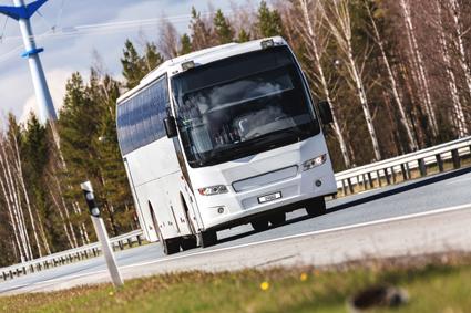 Finska Nokian Heavy Tyres lanserar ett nytt drivdäck för busssar och lastbilar. Foto: Nokian Heavy Tyres.