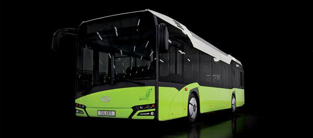 Nya Solaris Urbino. Solaris Sverige AB får ny försäljningschef från den 1 juni. Bild: Solaris.