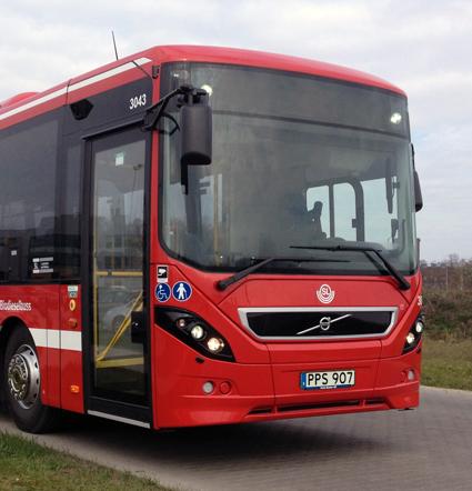 Volvo toppar registreringsstatistiken för tunga bussar under april. Foto: Volvo Bussar.