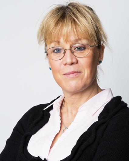 Trafikförvaltningens presschef Suss Forssman Thullberg. Foto: Andreas Lundberg.