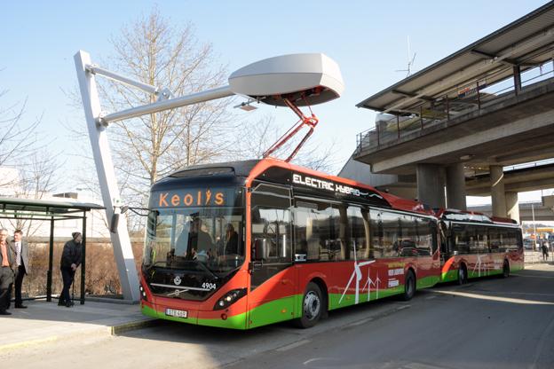Trafikverket föreslår att kommuner ska kunna få statlig medfinansiering på 30 procent till elbussar och 50 procent för exempelvis laddinfrastruktur eller infrastruktur för BRT-system. Foto: Ulo MAasing.