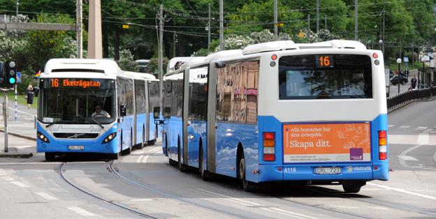 Västtrafik vill samtala om bussförarnas arbetsmiljkö. Foto: Ulo Maasing.