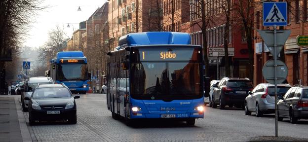 Utökad stadstrafik kommer i Borås. Foto: Ulo Maasing.
