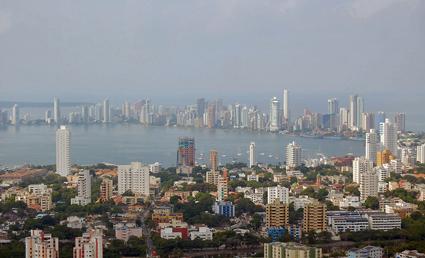 Den colombianska storstaden Cartagena har beställt 147 Scaniabussar till sitt nya BRT-system. Foto:Melangaro/Wikimedia Commons.